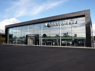 Saxton 4x4 showroom in Chelmsford