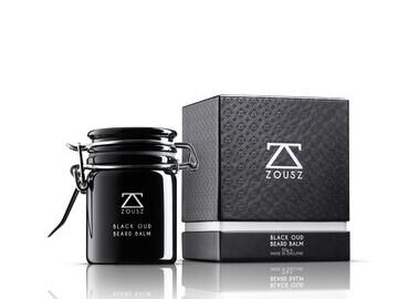 Luxury Black Oud Beard Balm
