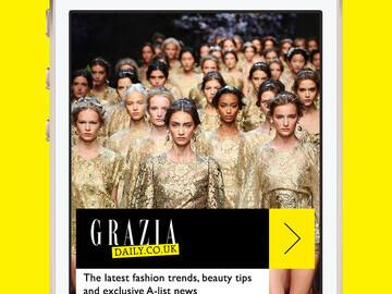 Grazia Extra app