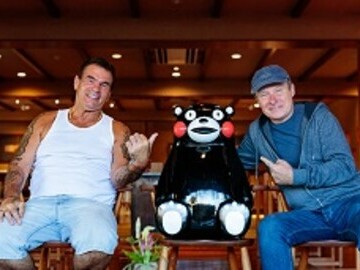 Paddy Doherty and Daniel Coll in Kyushu Japan