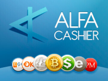 ALFAcashier cryptocurrency exchange service