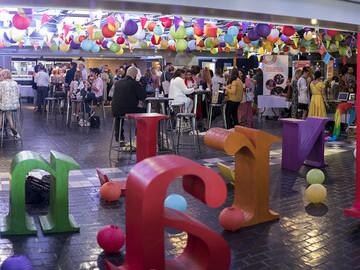 Wonderland, the event's creative marketplace.