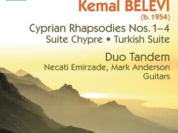 Duo Tandem Belevis Naxos CD cover