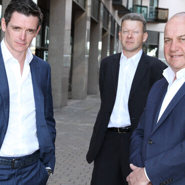 Co-principals of Global Advisors; Jean-Marie Mognetti, Russell Newton and Daniel Masters.