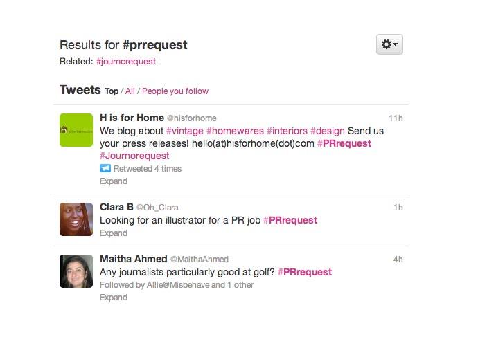 pr request twitter