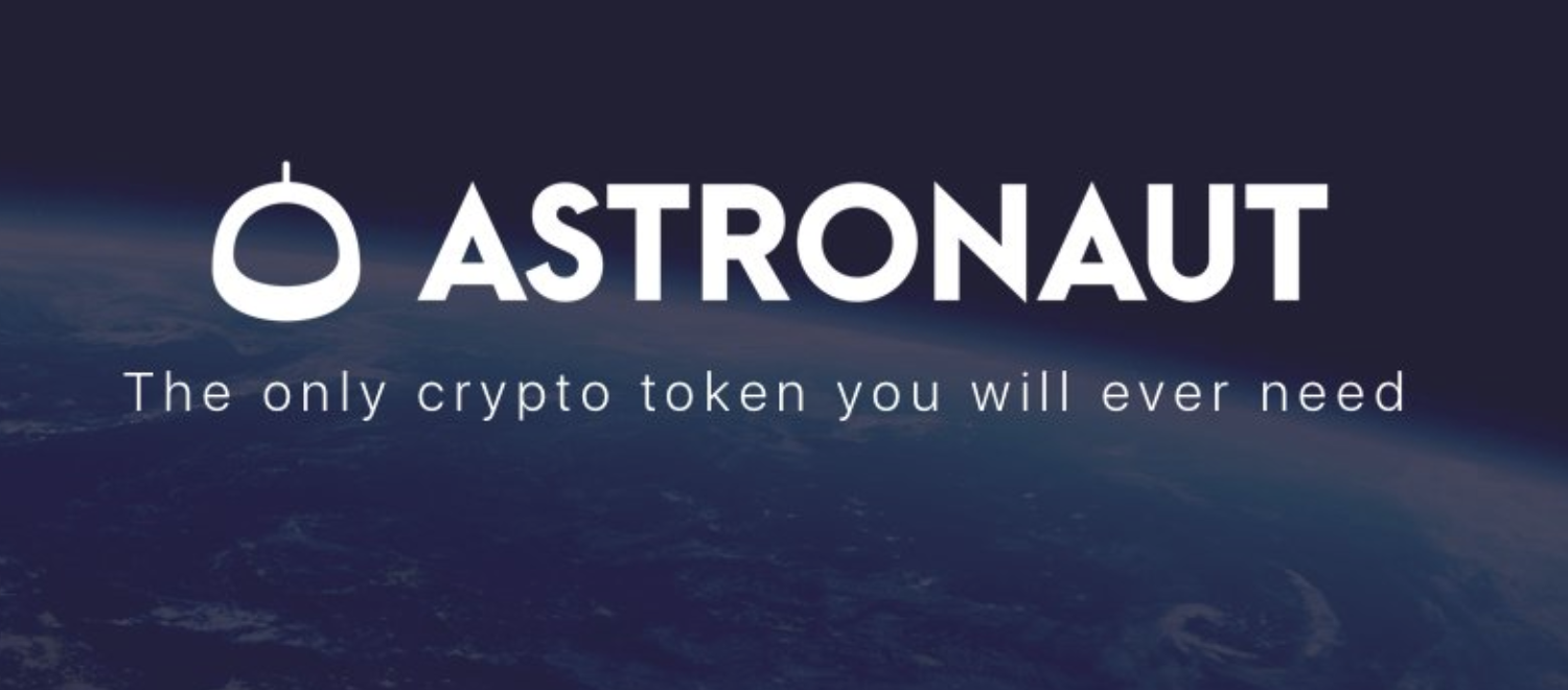 Image result for Astronaut capital crypto logo