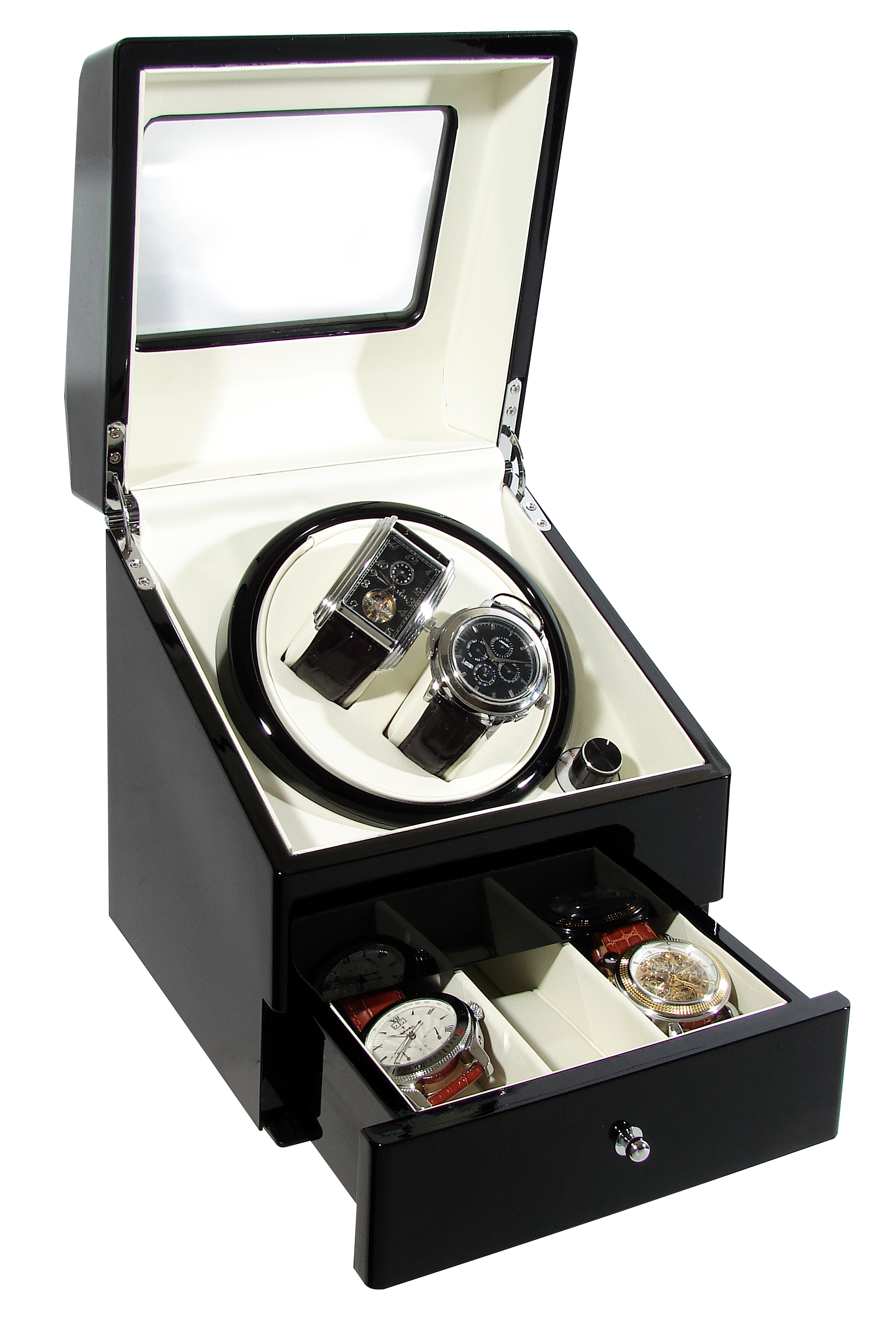 The CKB Ltd ® Time Tutelary Deluxe Automatic Double Watch ...
