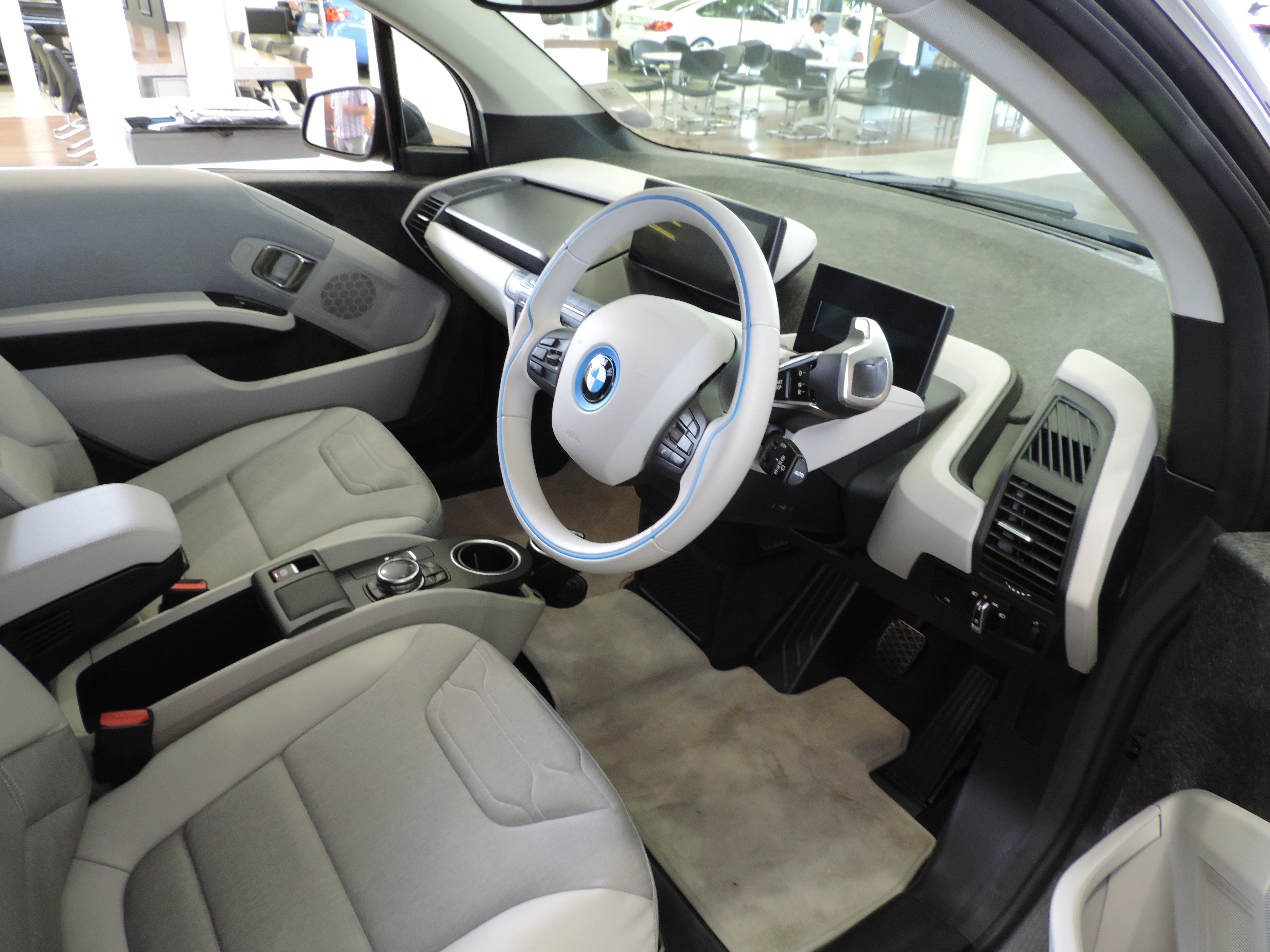 BMW i3 electric vehicle test drive review